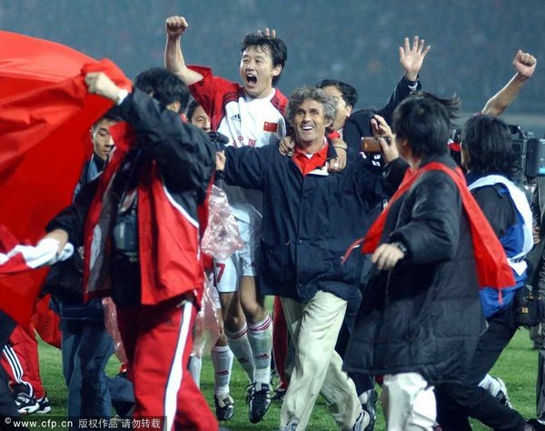 How China qualified to their First FIFA World Cup