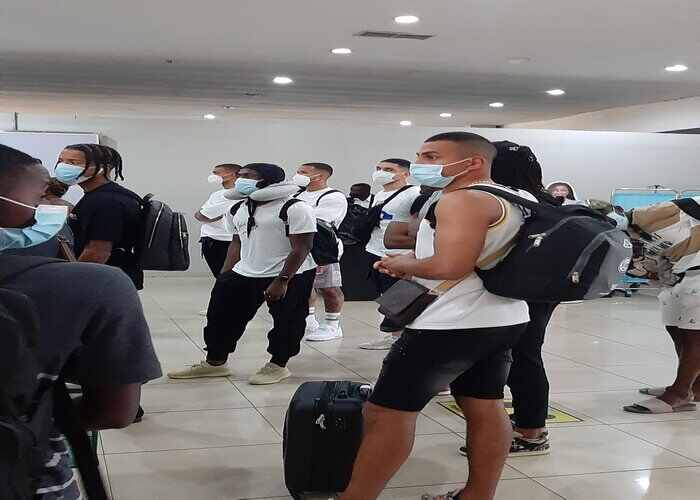 Musa, Aribo, Maduka, Iwobi, other 9 players arrive in Eagles camp ahead of AFCON 2021 qualifier against S/ Lone