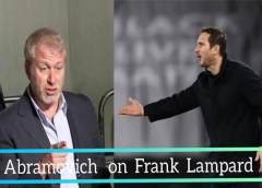 Roman Abramovich releases his speech as Chelsea sacks Frank Lampard