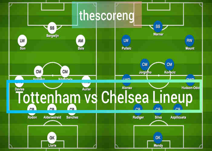 Tottenham vs Chelsea Prediction, Team News, Lineup and Kick Off Time