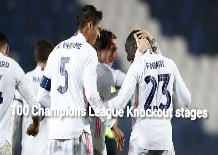 Real Madrid become first team to reaches 100 UCL knockout stages