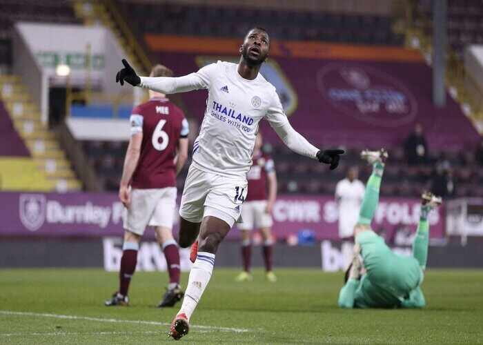 What Kelechi Iheanacho said after scoring stunning goal against Burnley