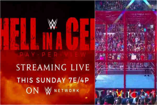 WWE Hell In A Cell 2021 Results