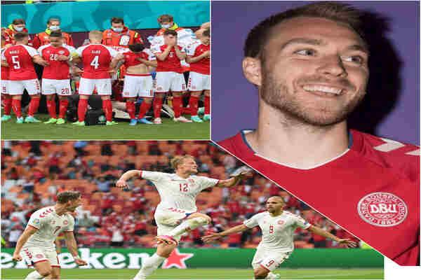 Denmark beats Czech Republic 2-1 to advance to Semi-final