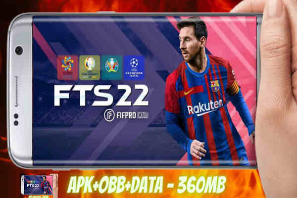 Download FTS 22 First Touch Soccer 2022 Mod Apk +Obb+ Data For Android, iOS