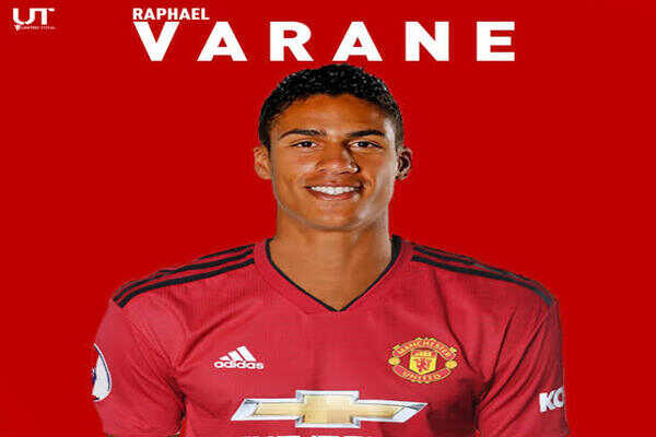 Done deal Manchester United complete sign of Raphael Varane from Real Madrid