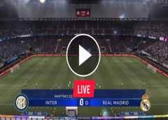 Watch Inter Milan KV vs Real Madrid Live Streaming On TV