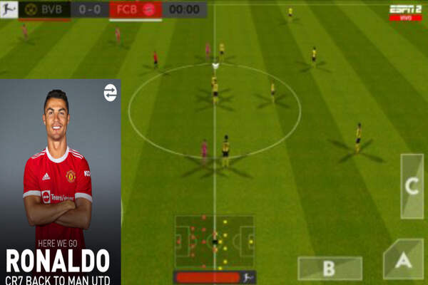 Download First Touch Soccer 2022 FTS 22 OFFICIAL V3 MOD APK Android
