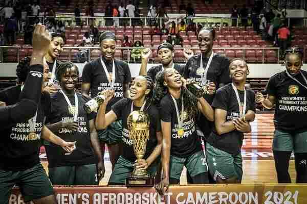 D'Tigress emerge Africa Champions again beating Mali in 2021 FIBA Women's AfroBasket final