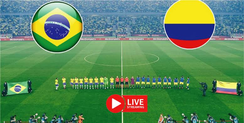 Watch Colombia vs Brazil Live Streaming on TV