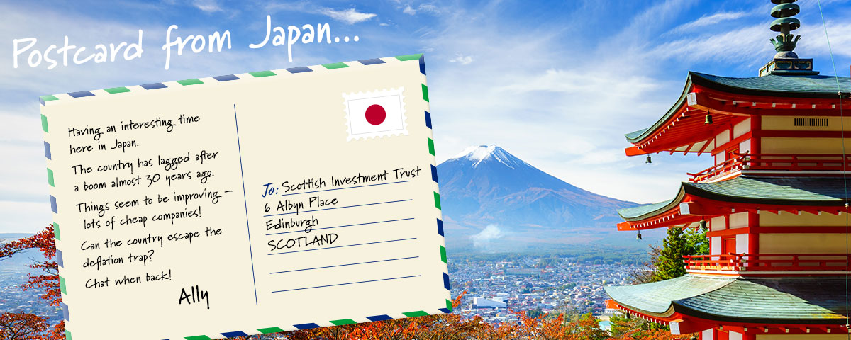 postcard from japan the