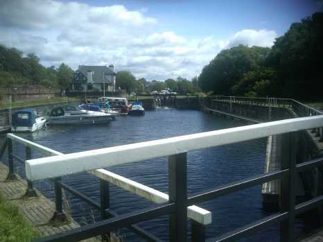 The Forth & Clyde Canal at Bowling