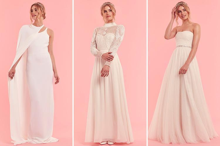 These Six Wedding Gowns Range In Price From Just £35 To £