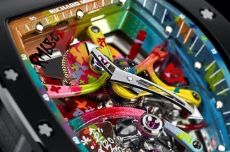 richard mille scout life graffiti tourbillon 4