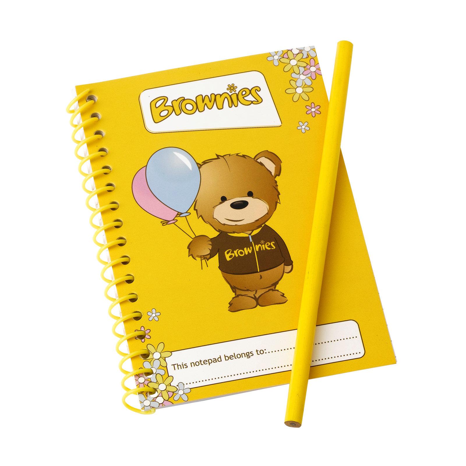 Brownie Notepad