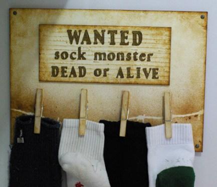 Sock Monster Kids project