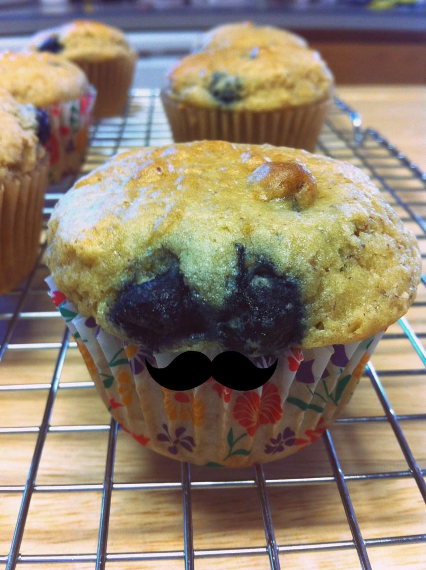 Mustache muffin!