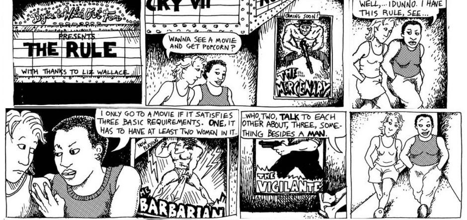 Bechdel Test Comic Book