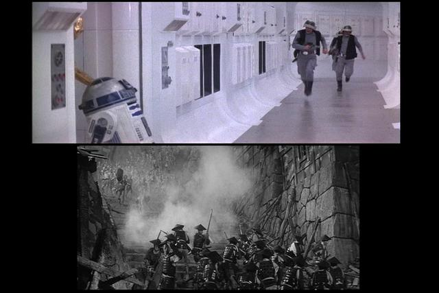Hidden Fortress - Star Wars Protagonist VS Point of View
