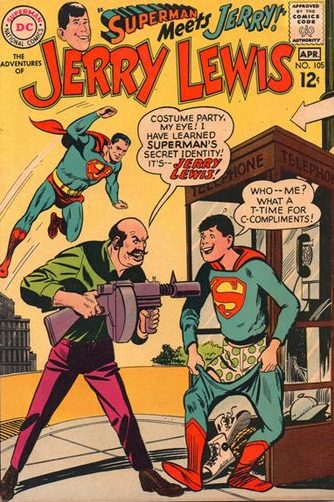 Superman meets Jerry Lewis