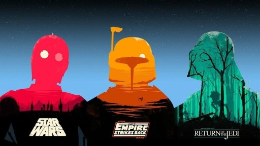 Star Wars posters created by Olly Moss
