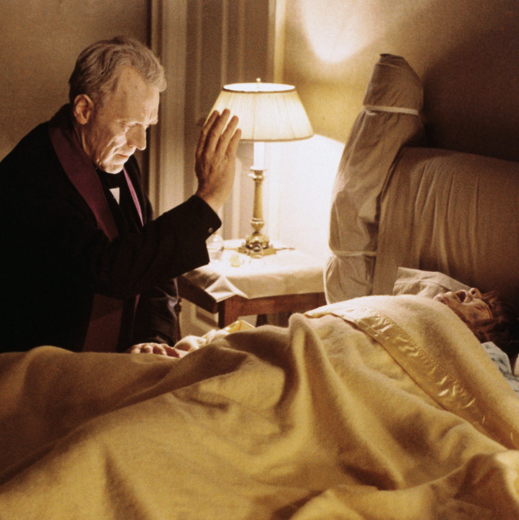 Max Von Sydow - The Exorcist - The scriptblog.com