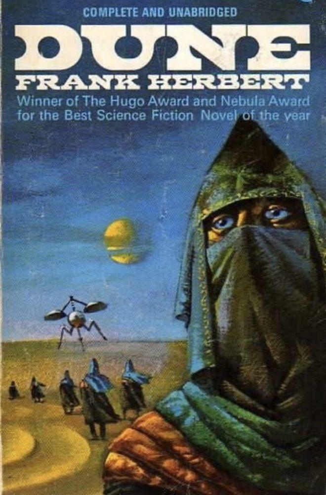 Dune Book Front Cover - The Scriptblog.com