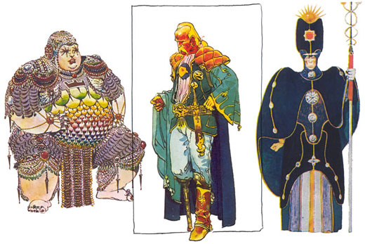 Designs for Jodorowskys' Dune - The Scriptblog.com