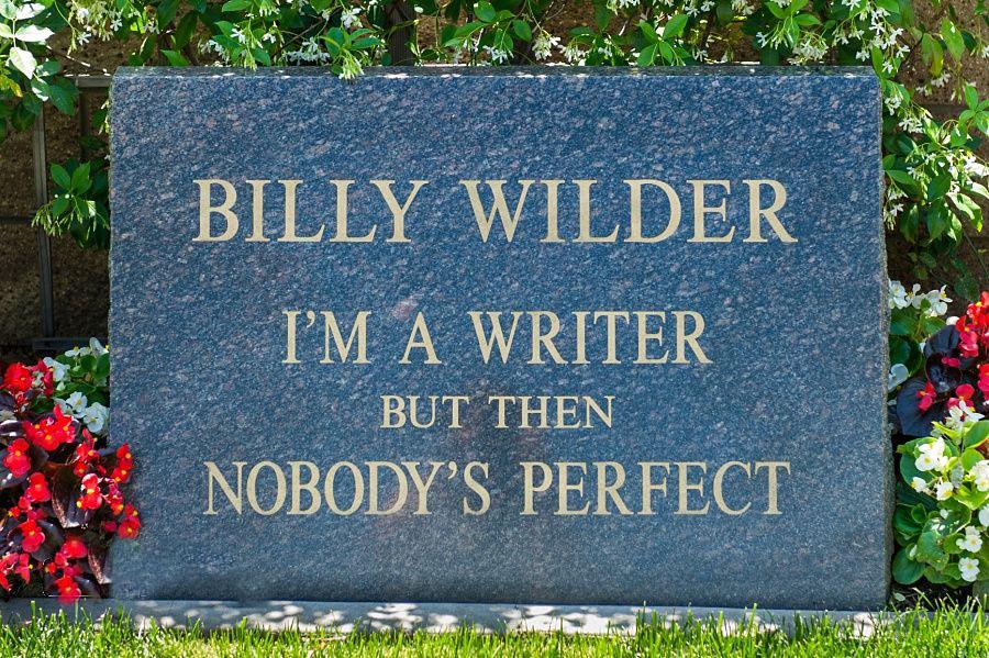 Billy Wilder's grave