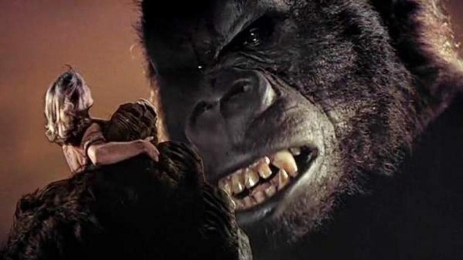 King Kong and girl C.U.
