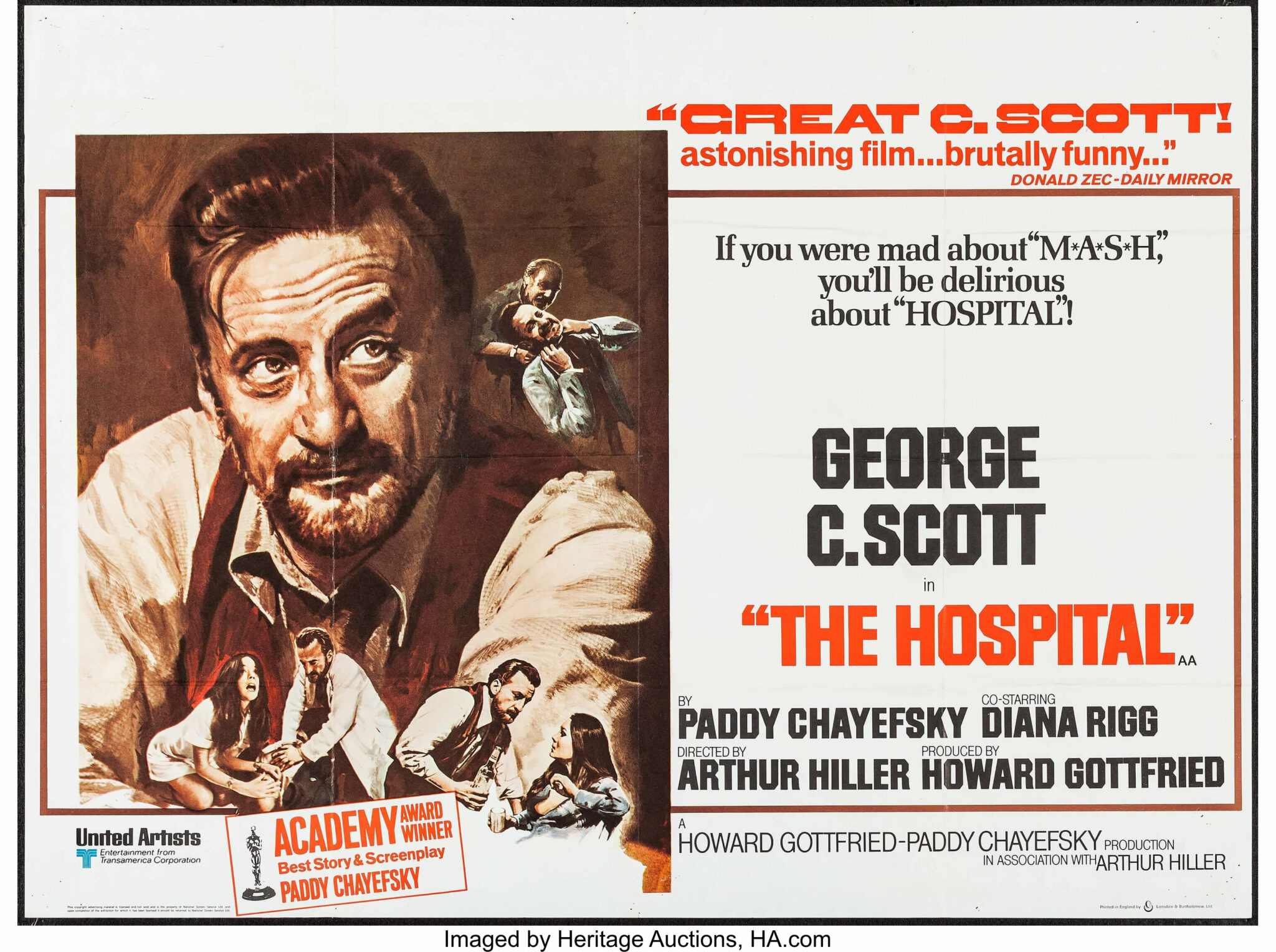 The Hospital - Mad as Hell - thescriptblog.co