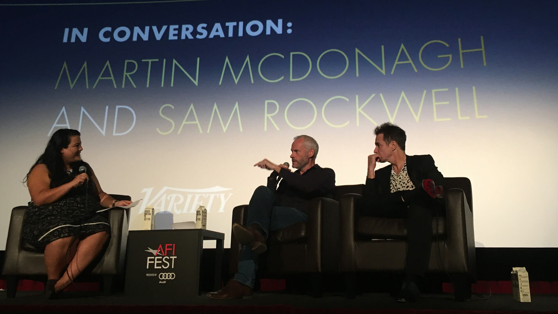 Screenwriting Lessons From Martin McDonagh and Sam Rockwell