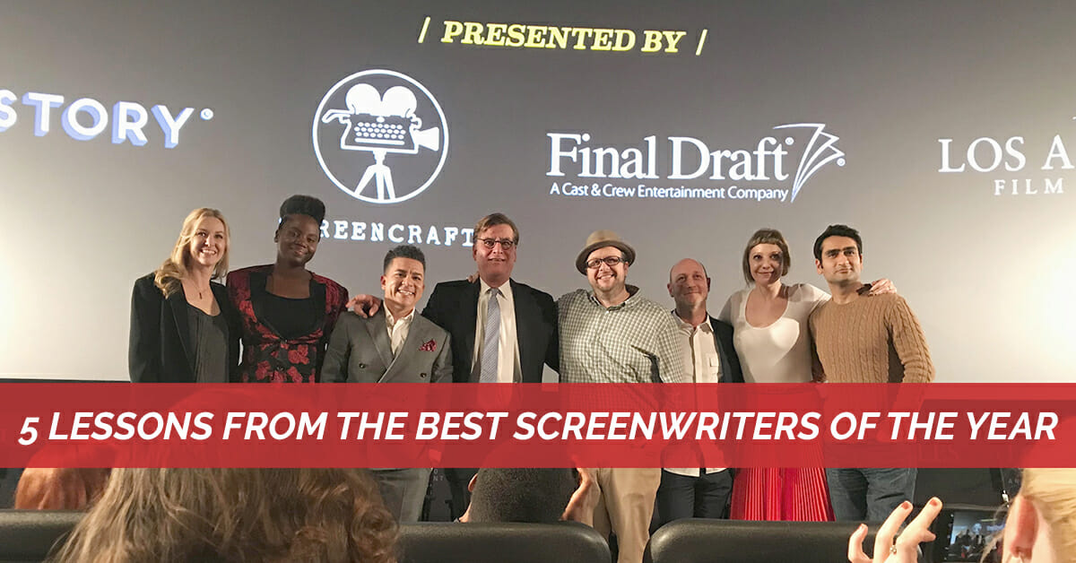 5 Lessons from the Best Screenwriters of the Year