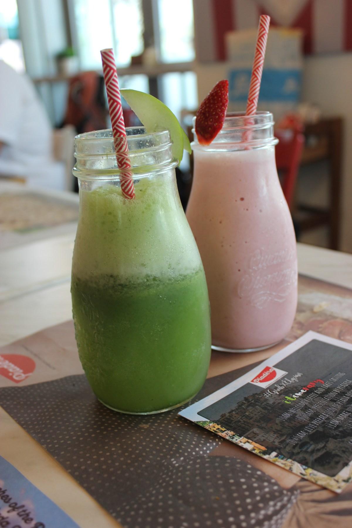 Piadera_GreenDetox&StrawberrySmoothie