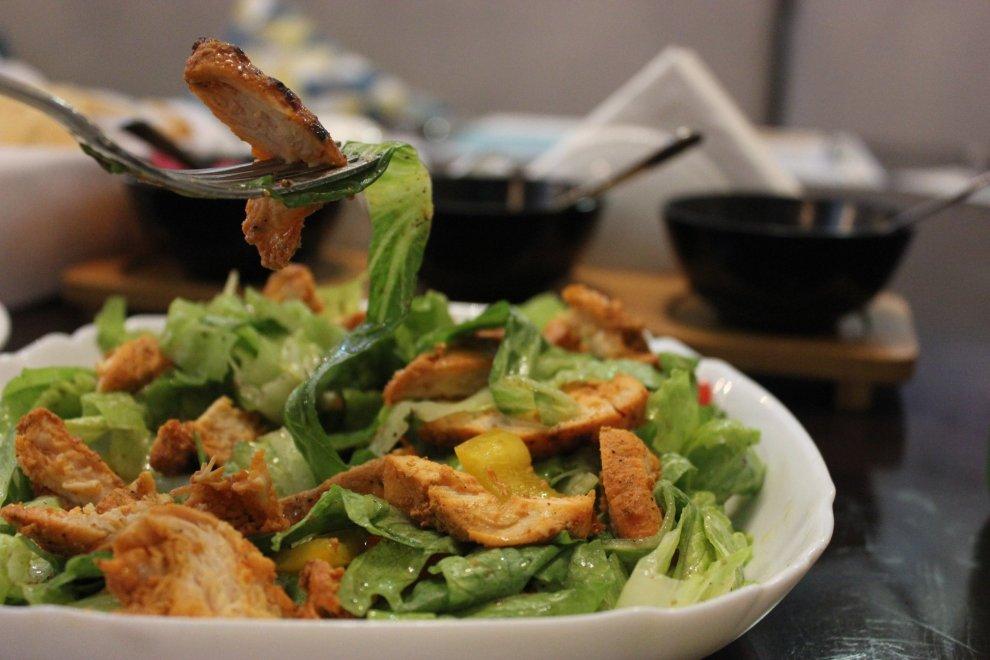Bhoujan_Grilled Chicken Salad