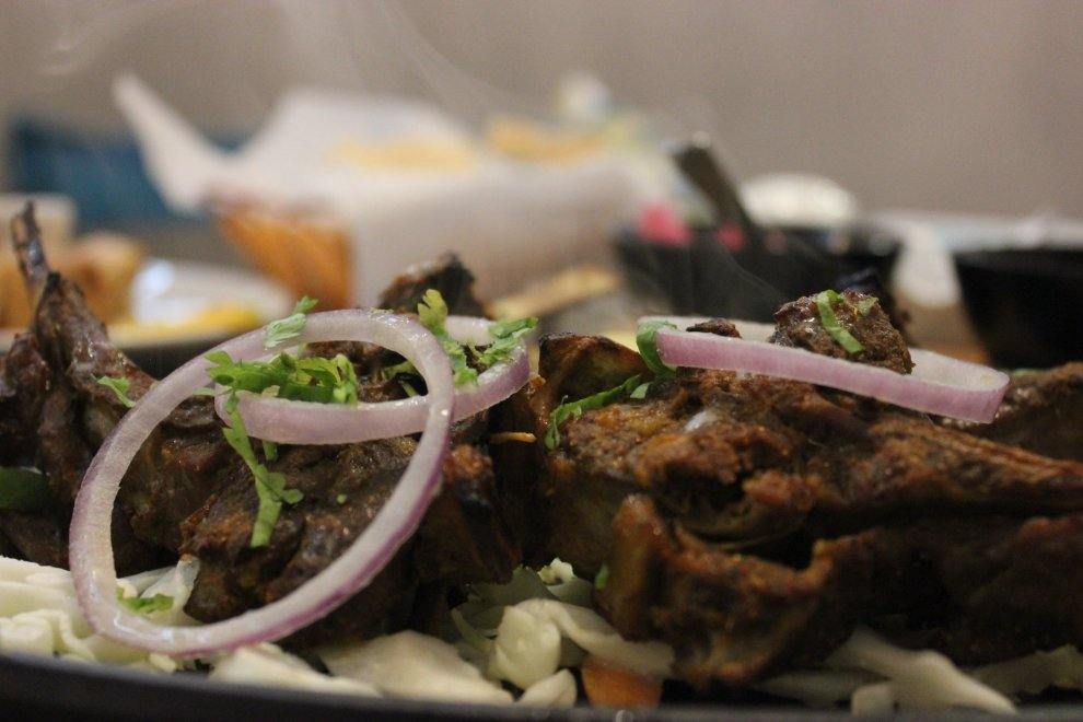 Bhoujan_Grilled Lamb Chops