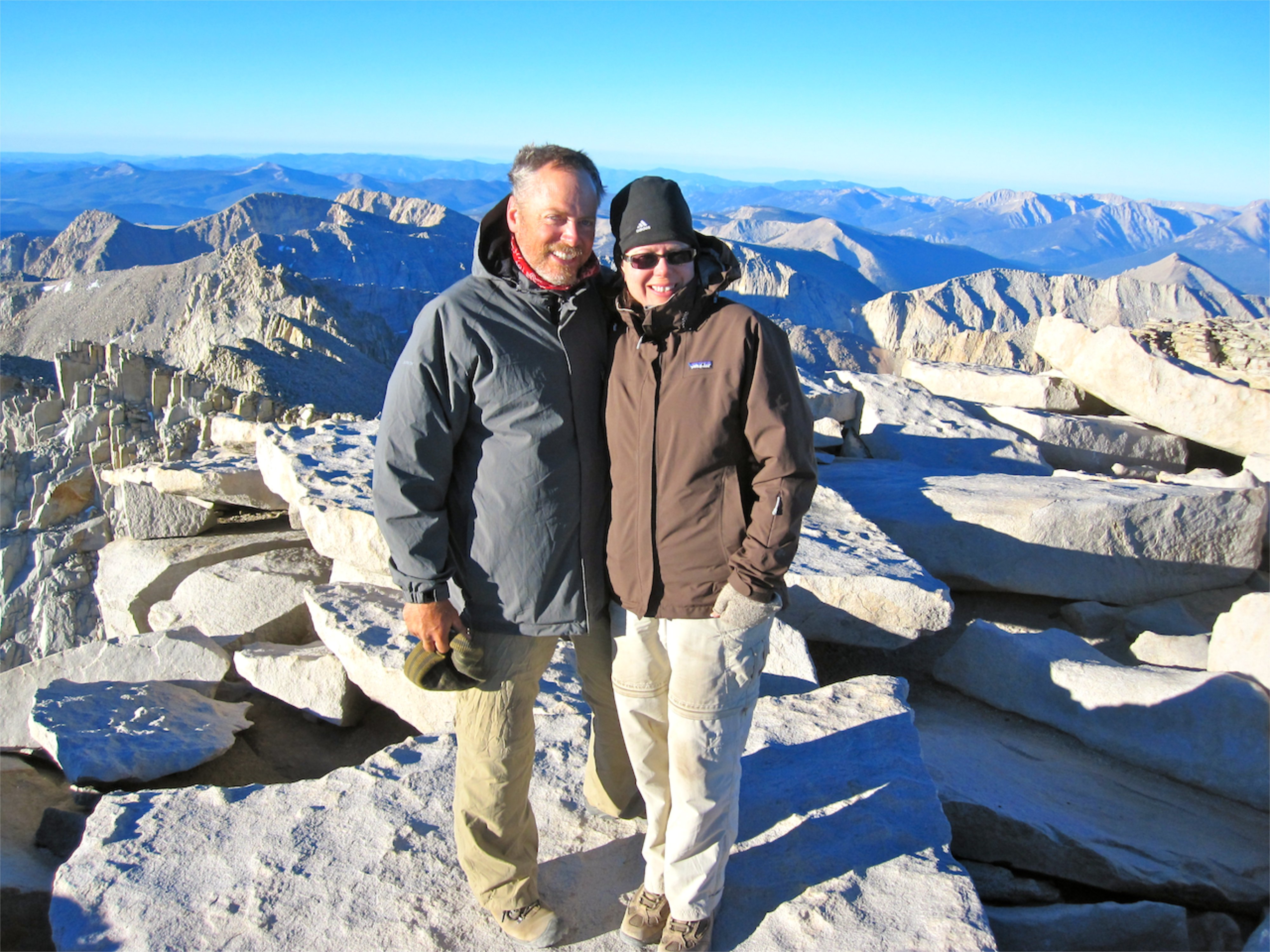 Atop Mt. Whitney