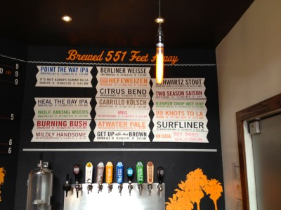 Golden Road Brews on Tap