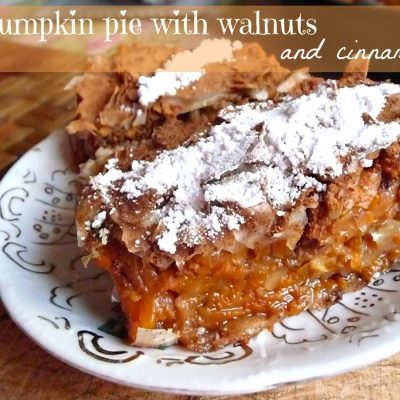 Easy homemade Pumpkin Pie recipe