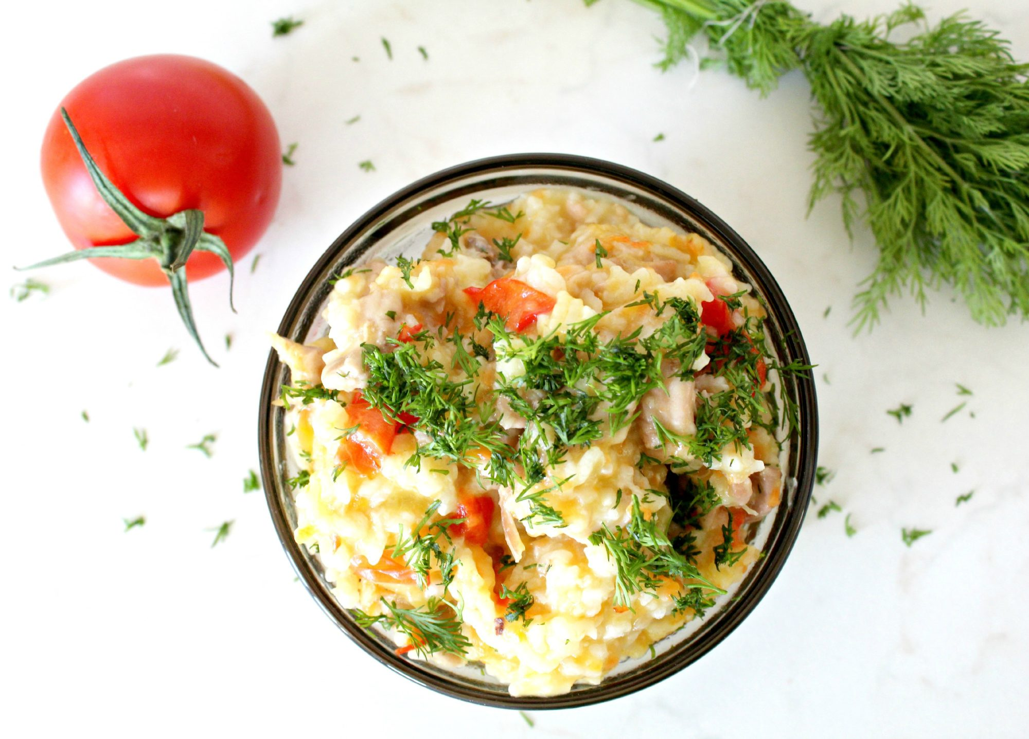 Chicken rice pilaf recipe