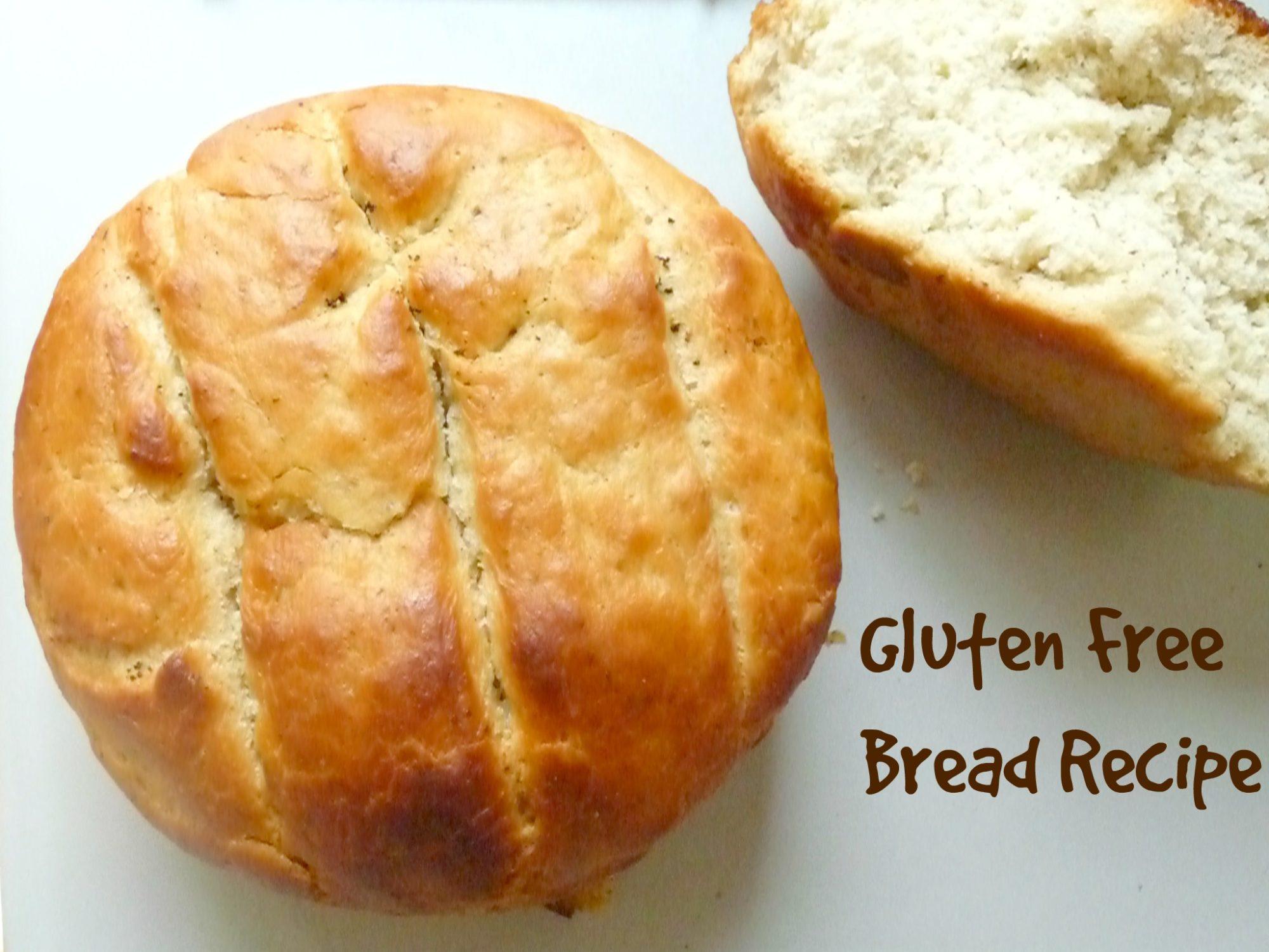 Gluten Free Bread Recipe The Seaman Mom