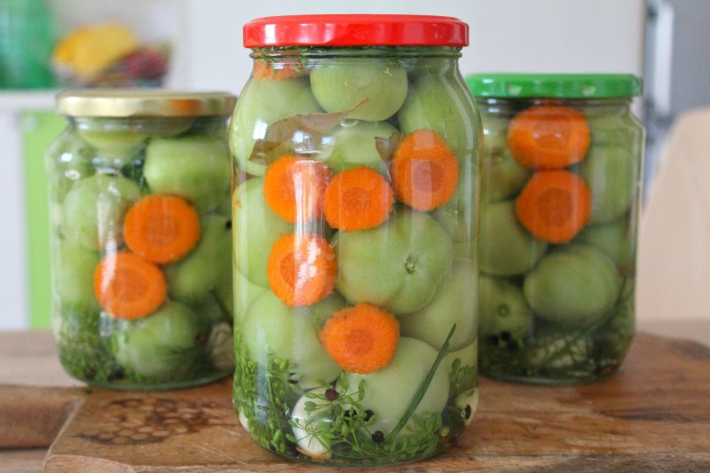 How to make pickled green tomatoes without vinegar 5