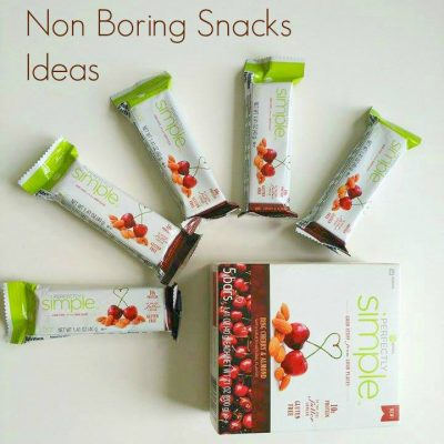 5 Healthy but Non boring snacks ideas