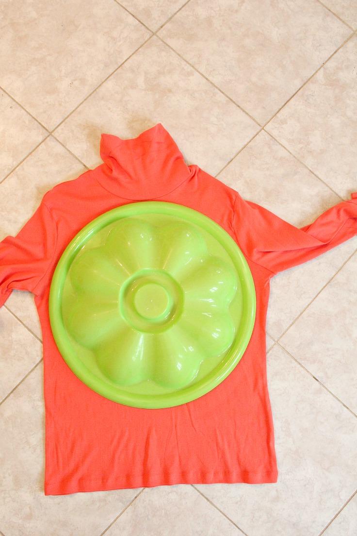 DIY Pumpkin step 2