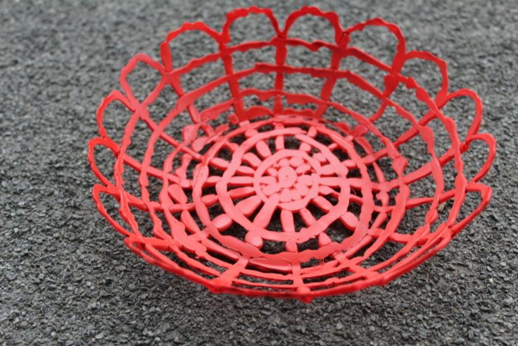 Hot glue bowl