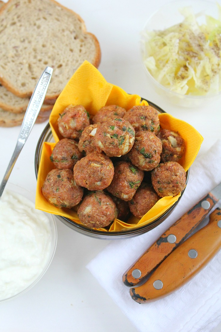 Baked Meatballs recipe