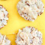 Banana Coconut Cookies