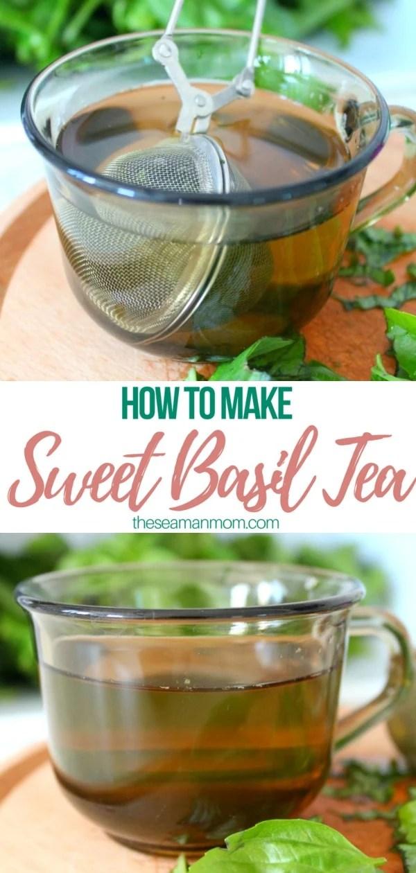 How to make basil tea