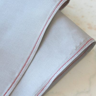 How To Hem Sheer Fabric Without A Rolled Hem Foot