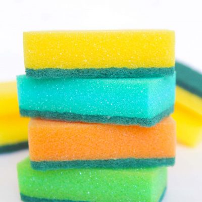 Easy Peasy Way To Clean A Sponge